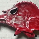 Arkansas Razorback Tray